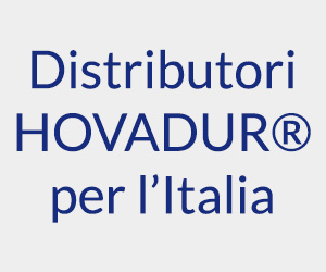 Distributori HOVADUR per l'Italia